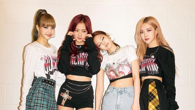 BLACKPINK. The South Korean girl group returns to Manila. Photo from BLACKPINK's Instagram account