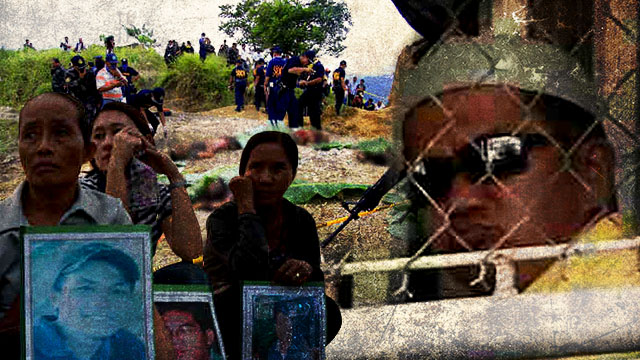 SIX YEARS AND COUNTING. Justice remains elusive for the  victims of the Maguindanao massacre. File photos from Rappler