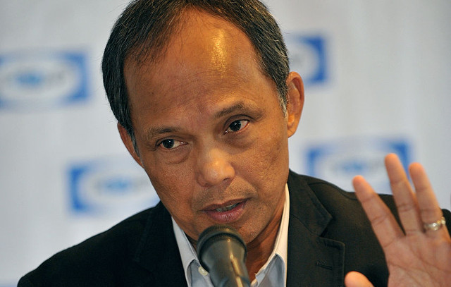 POWER PROBLEM. File photo of Energy Secretary Alfonso Cusi. Getty Images