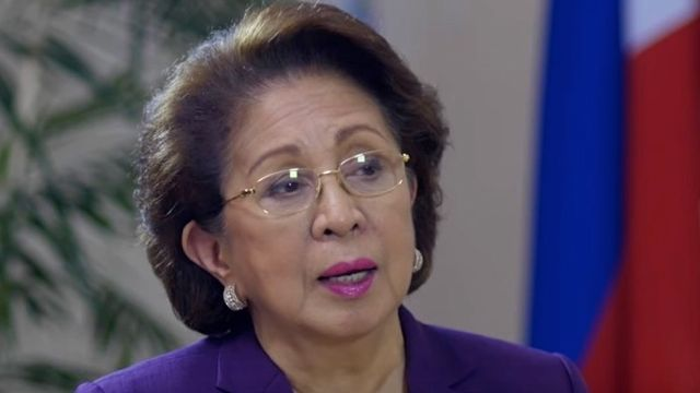 PRESIDENT'S IRE. Ombudsman Conchita Carpio Morales is accused of administering 'selective justice' by President Duterte. Rappler photo