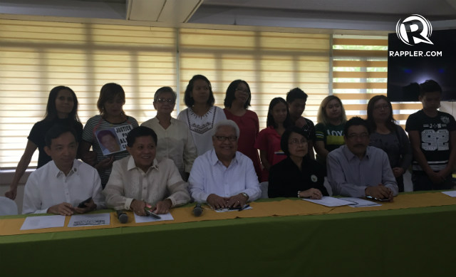 FOR HUMAN RIGHTS. Makatao members and human rights organizations work together to push for rights-based governance. Photo by Jodesz Gavilan/Rappler