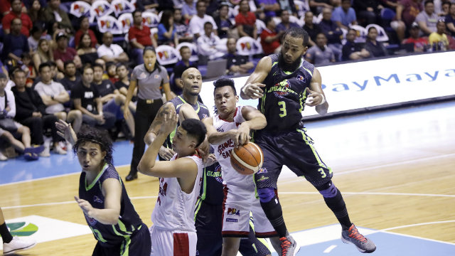 HARD LESSONS. Tim Cone believes Ginebra would have been better off losing to Globalport and learning a valuable lesson after their complacent early play. Photo by PBA Images
