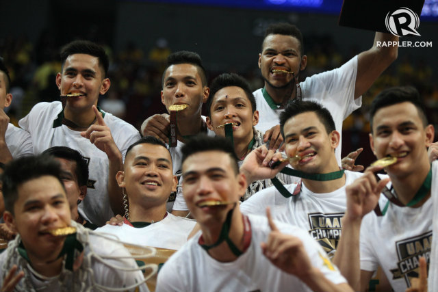 BACK ON TOP. FEU ends a 10-year drought by overcoming UST in the finals. File photo by Josh Albelda/Rappler