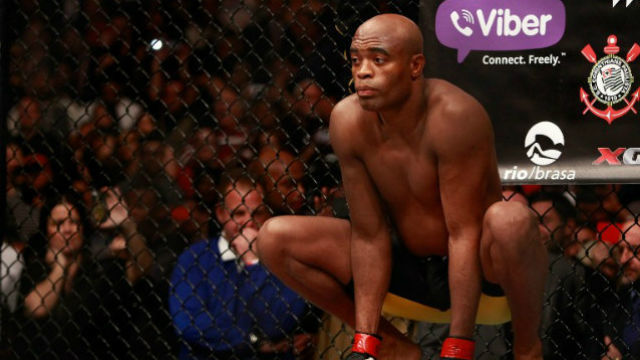 HE'S BACK. Anderson Silva will make his return in February. File photo by Steve Marcus/Getty Images/AFP