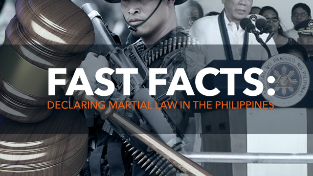 WHAT THE LAW SAYS. Does the 1987 Philippine Constitution allow martial law? Graphic by Nico Villarete