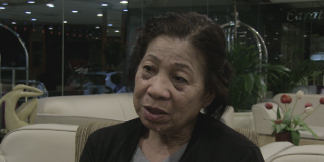 GOVERNMENT'S ROLE. Anita says local governments should improve their services for indigenous peoples. Photo by Jee Y. Geronimo/Rappler