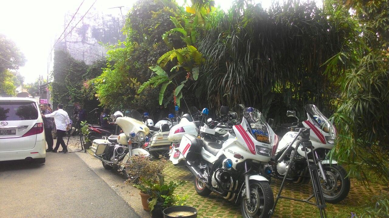 7 motor akan mengawal Anies Baswedan selama pelantikan Gubernur DKI Jakarta. Foto oleh Ananda Nabila Setyani/Rappler
