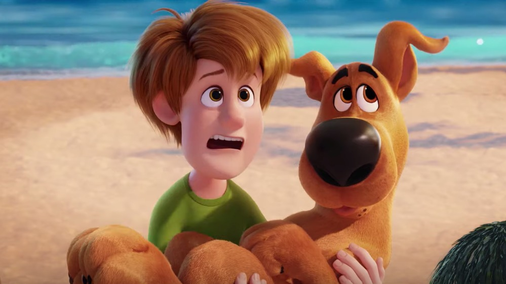 SCOOB! Scooby-Doo and the rest of the Mystery Gang are headed to the big screen for another mystery-solving adventure. Screenshot from trailer