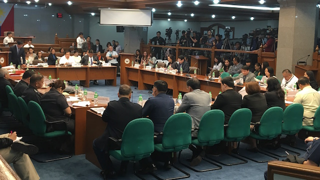 SECOND HEARING. The Senate tackles proposals to reimpose death penalty in the Philippines
