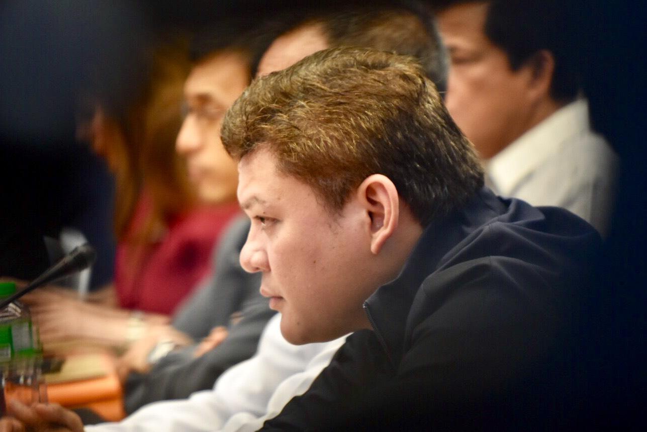PUBLIC SQUABBLE. Davao City Vice Mayor Paolo Duterte admonishes his daughter, Isabelle Duterte, through a public post on Facebook. File photo by LeAnne Jazul/Rappler