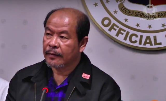 CHANGE IN TONE. Veteran Davao policeman Arturo u0022Arthuru0022 Lascau00c3u00b1as enumerates deaths and incidents ordered by then Davao City mayor Rodrigo Duterte.