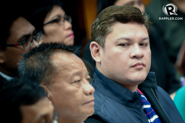 INVESTIGATION. Presidential son Paolo Duterte is the subject of a pending investigation by the Office of the Ombudsman, says Ombudsman Conchita Carpio Morales. File photo by LeAnne Jazul