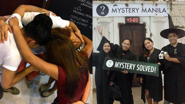 MYSTERY SOLVERS. Everyone loves a good mystery, which is readily apparent in the diversity of Mystery Manilau2019s market. Photos from Mystery Manila's Facebook page