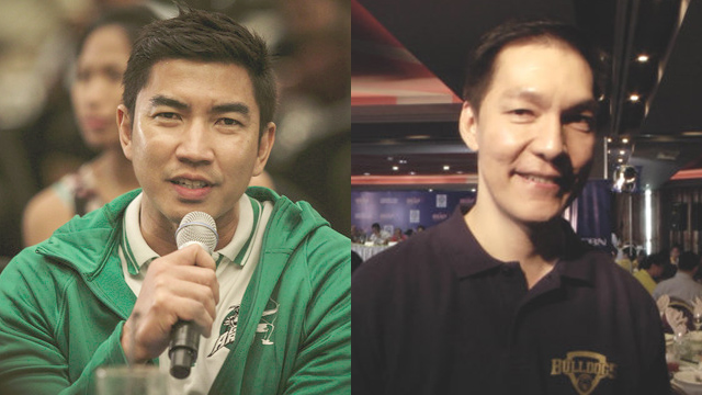 HEADLINER. Aldin Ayo (L) and La Salle will take on Eric Altamirano (R) and NU in a battle of undefeated teams.