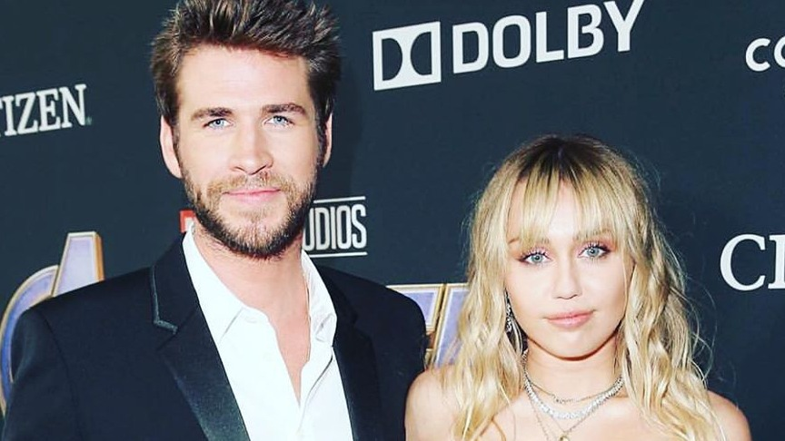 POST-SPLIT. Liam Hemsworth shares his first message on Instagram since his separation from Miley Cyrus. Photo from Liam Hemsworth's Instagram account