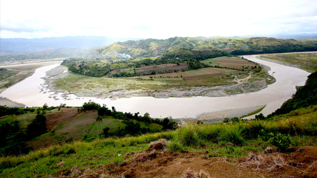 CHICO RIVER. This magnificent stretch of the Chico River in Barangay Katabbogan, Pinukpuk, Kalinga, will be the source of the P4.37-billion Chico River Pump Irrigation Project. File photo from NIA-Cordillera Administrative Region's website