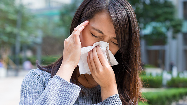 FLU. A common cold weather disease is the flu. Photo from Shutterstock