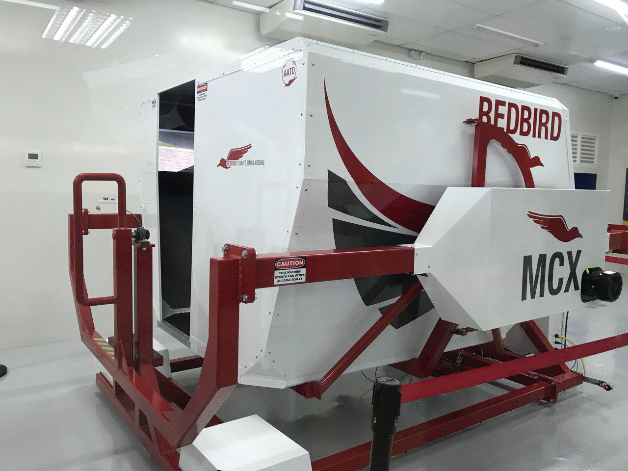 REDBIRD MCX. This is an aviation training device allowing the student pilot to demonstrate maneuvers as a 'co-pilot'. Photo by Aika Rey/Rappler
