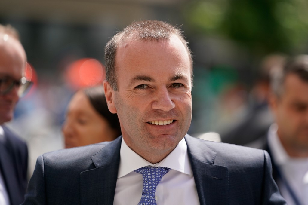 SNUBBED. Manfred Weber, top candidate of the European People's Party (EPP) arrives to attend the EPP meeting on May 28, 2019 in Brussels, following the European elections. Kenzo Tribouillard/AFP