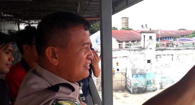 BUCOR CHIEF. Bureau of Corrections chief Nicanor Faeldon with media at the National Bilibid Prison on August 22, 2019. Photo by Lian Buan/Rappler