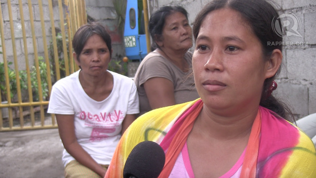WIFE. A wife of a boat captain is 6 months pregnant, but her husband remains detained in Indonesia. Photo by Buena Bernal/Rappler