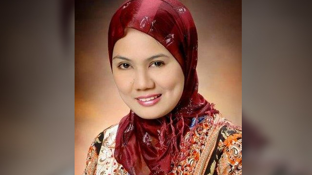 RESIGNATION. Samira Gutoc-Tomawis resigns on May 29, 2017 from the Bangsamoro Transition Commission formed by President Rodrigo Duterte. Photo from Gutoc-Tomawis' Twitter account