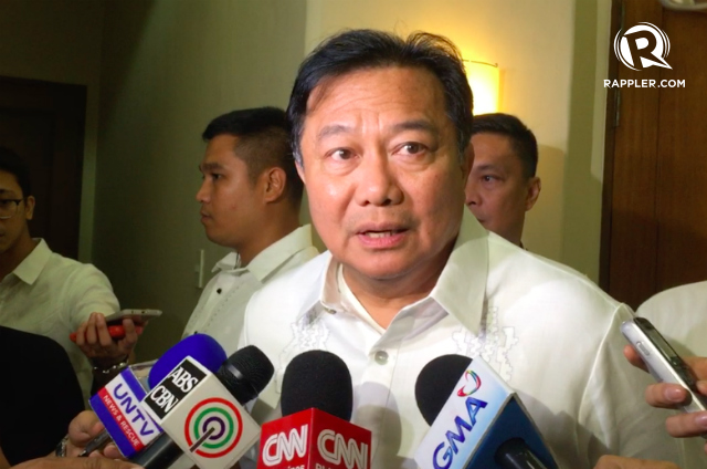 UNFAIR. House Speaker Pantaleon Alvarez says he sees no reason to continue to fund the Commission on Human Rights. Photo by Jodesz Gavilan/Rappler