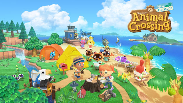 FORGET YOUR WORRIES. Animal Crossing lets you set up camp on an idyllic island. Image from Nintendo.