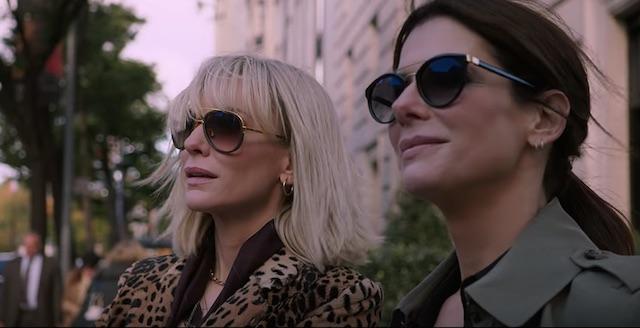 KOMPAK. Duet akting Cate Blanchett dan Sandra Bullock yang menawan dan solid. Foto dari screen capture akun YouTube Warner Bros. Pictures