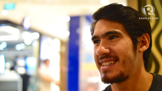 Hartmann is the first Filipino to play professionally in South East Asia since Freddy Gonzalez. Photo by Bob Guerrero/Rappler