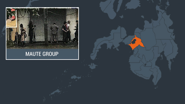 STRONGHOLDS. The Maute Group is based in Lanao del Sur, and has established strongholds in the province.