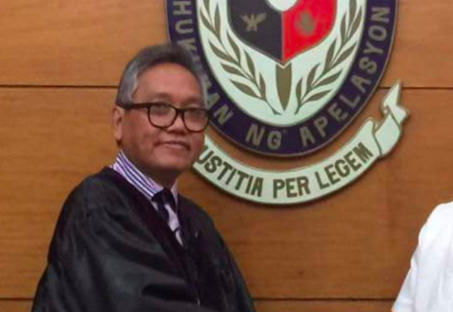 NEW JUSTICE. CA Justice Rodil Zalameda is the new Supreme Court Associate Justice. File photo from Barangay 435 Zone 44 Facebook Page