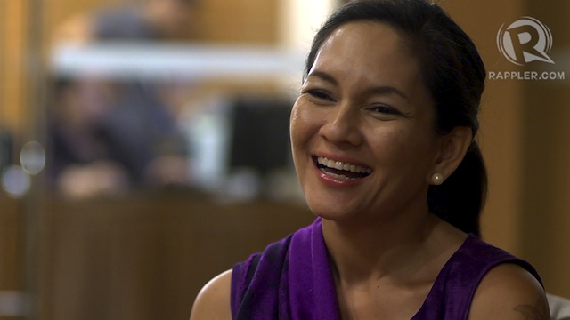 CONTRIBUTIONS. Among the 2016 senatorial bets who ran in previous elections, Risa Hontiveros has the most number of campaign contributors. Rappler file photo