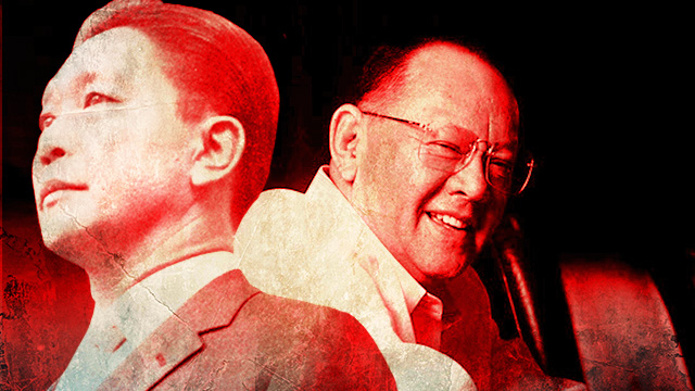 TIES WITH MARCOS. Business tycoon Eduardo Cojuangco Jr is one of the cronies of former president Ferdinand Marcos.
