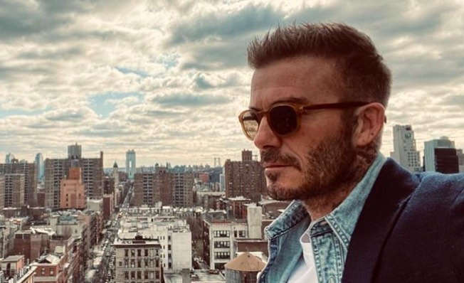 INTERNATIONAL VENTURES. David Beckham continues to travel to different countries for business. Photo from David Beckham's Instagram