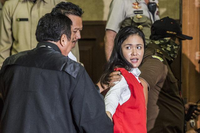 Jessica divonis 20 tahun penjara, pada 27 Oktober 2016. Foto oleh Antara/M Agung Rajasa
