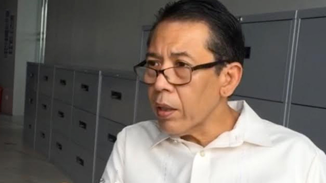 FLAG CHAIRPERSON. Jose Manuel Diokno continues in his father's footsteps, chairing the organization his father had founded. Rappler file photo