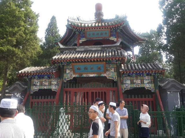 MASJID NIUJIE. Salah satu area di Masjid Niujie, Beijing pada Senin, 12 September. Foto oleh Uni Lubis/Rappler