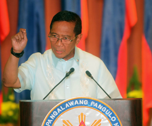 File photo of fomer Vice President Binay from OVP