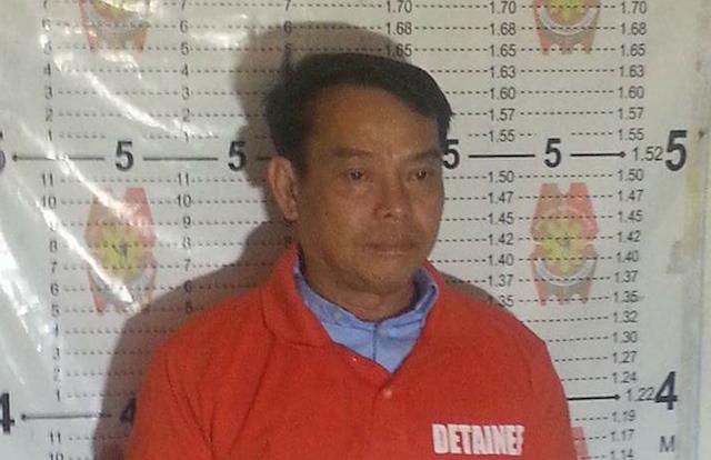 SHOT IN JAIL. File photo of slain Albuera Mayor Rolando Espinosa Sr. File photo courtesy of Chief Inspector Maria Bella Rentuaya, PRO 8 spokesperson