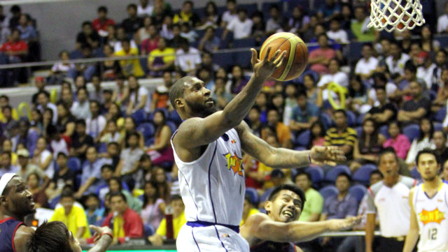 Richard Howell has been a rebounding machine for Talk 'N Text. File photo by Nuki Sabio/PBA Images