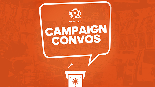 LISTEN IN. Rappler's campaign reporters take you into the 2019 election season