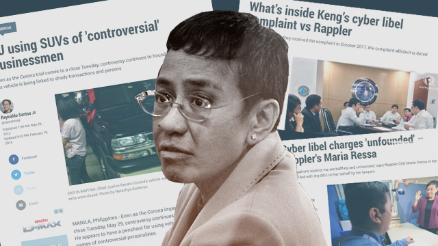 Rappler CEO Maria Ressa is arrested Wednesday, February 13, for a cyber libel charge
