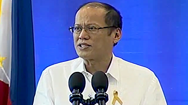 PROMISE. In an interview following the inauguration of the Iloilo Convention Center September 14, 2015, President Aquino reiterates his promise of not increasing taxes, but instead, would collect taxes as already prescribed by law. Screen grab from Presidential Communications Operations Office YouTube site