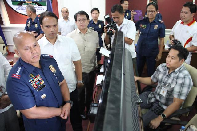 LONG IN THE PIPELINE. The creation of a national police clearance system has been in the works for at least 3 years now, starting under the leadership of Ronald dela Rosa in the PNP. PNP photo