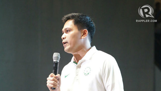 MOVING ON. DLSU is set to replace Juno Sauler, who coached La Salle for 3 years. File photo by Arvin Alivia/Rappler