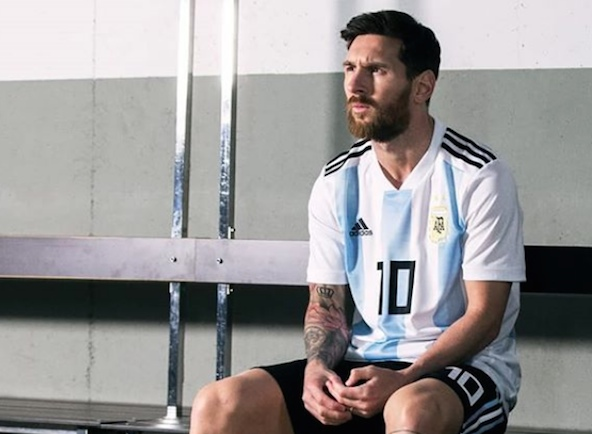 MENGECEWAKAN. Lionel Messi tampil mengecewakan di laga perdana bersama Argentina di Piala Dunia 2018. Foto dari instagram @afaseleccion