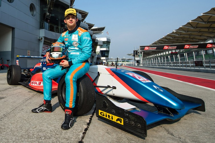 RISING STAR. Daniel Miranda spends one season in Formula before shifting to TCR. Photo from TCR Series website