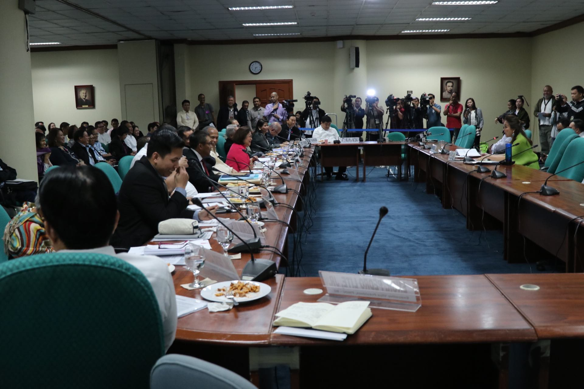 POWER'S BACK. Photo by Gil Nartea/Office of Senator Legarda