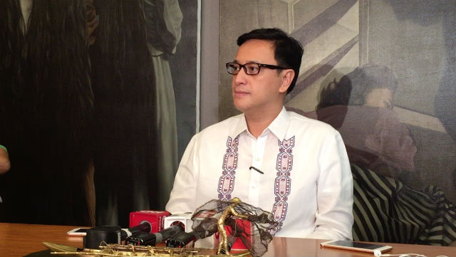 LP LEADER. Deputy Speaker Miro Quimbo explains why he and 21 of his party mates remain allied with the administration. File photo by Mara Cepeda/Rappler